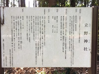 立野神社(茨城県)