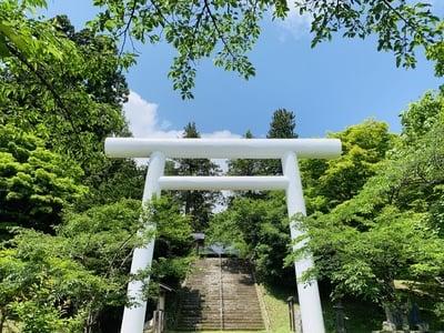 土津神社の鳥居
