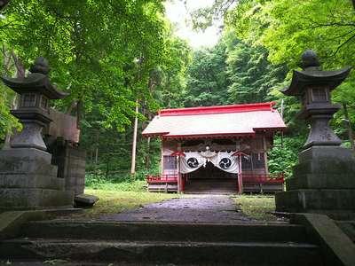 北海道塩谷神社の本殿