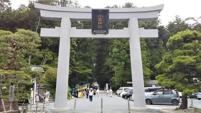 静岡県小國神社の鳥居