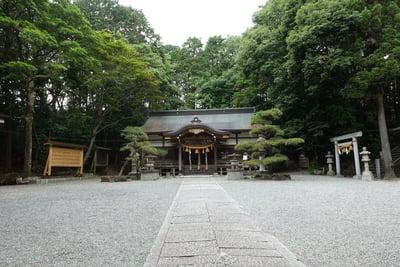 小野原春日神社の本殿