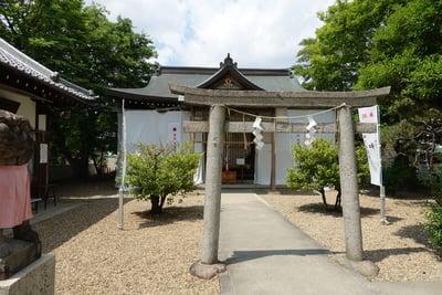 佐奈部神社の本殿