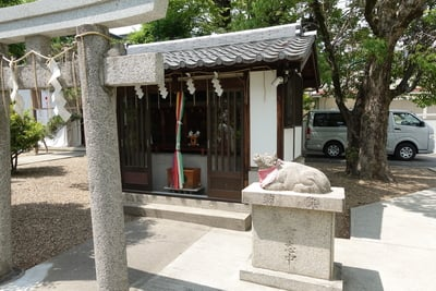 佐奈部神社の末社