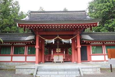 山梨県冨士御室浅間神社の本殿