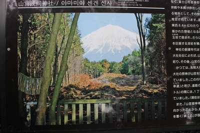 静岡県山宮浅間神社の写真