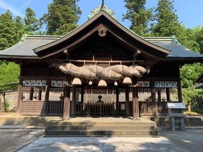 島根県揖夜神社の本殿
