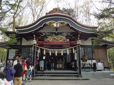 山梨県山神社の本殿