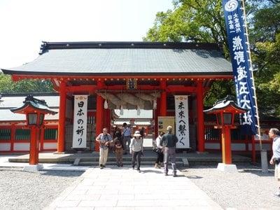和歌山県熊野速玉大社の山門