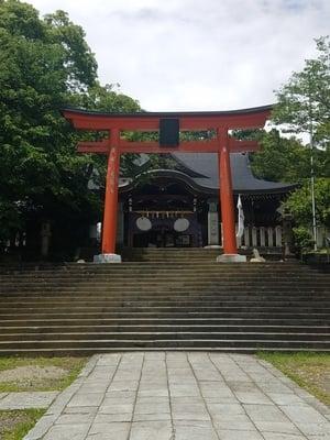 福井県藤島神社(贈正一位新田義貞公之大宮)の鳥居