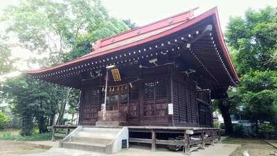 子ノ神社の本殿