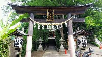 南沢氷川神社の鳥居
