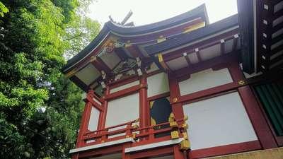 南沢氷川神社の本殿