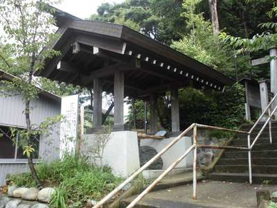 神奈川県杉山神社の写真
