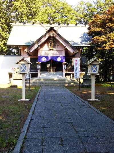 北海道長沼神社の本殿