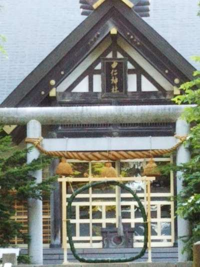 北海道由仁神社の本殿