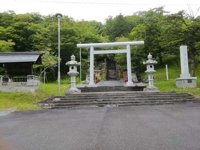北海道夕張神社の鳥居