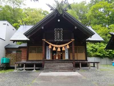 北海道夕張神社の本殿