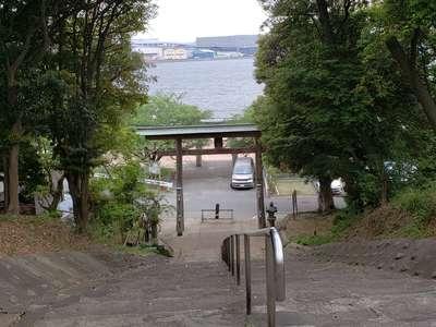 福岡県名島神社の写真