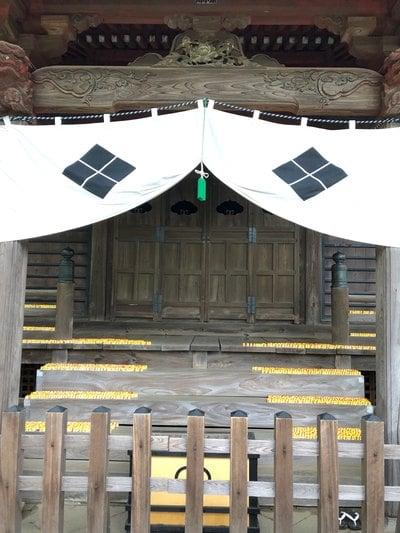 埼玉県多聞院の本殿