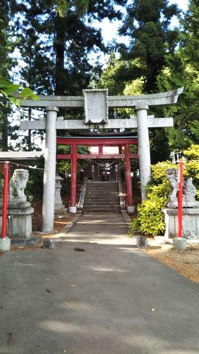 岩手県早池峯神社の鳥居