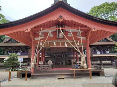 山口県住吉神社の本殿