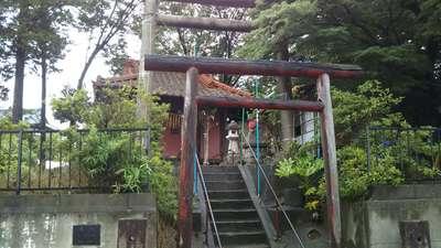 茨城県稲荷神社の鳥居