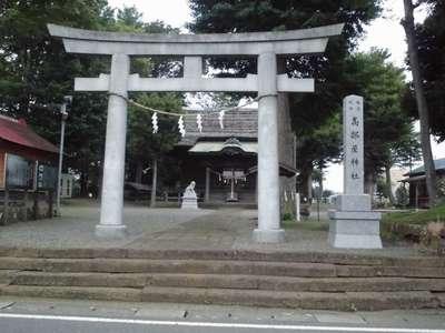 神奈川県高部屋神社の鳥居