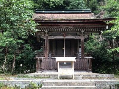 京都府月読神社(松尾大社摂社)の本殿