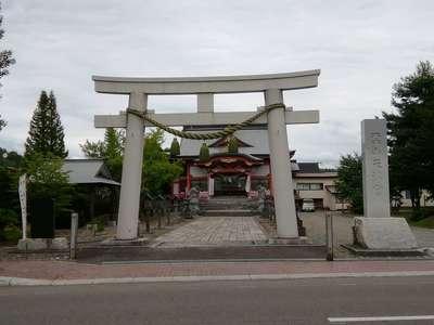北海道栗山天満宮の写真