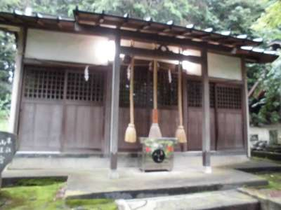 神奈川県豊受大神の本殿