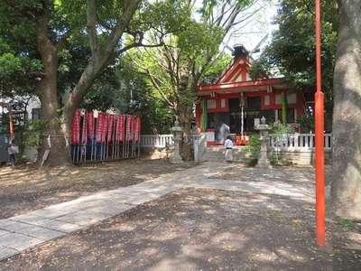 笠䅣稲荷神社の本殿