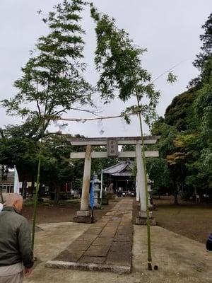 香取社(伏木香取神社)の鳥居