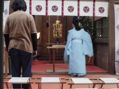 弥生神社の本殿