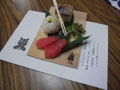 弥生神社の食事