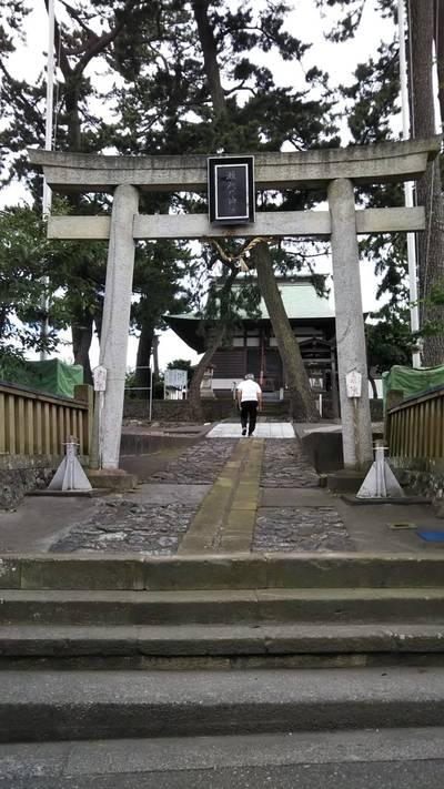 瀬織戸神社の鳥居