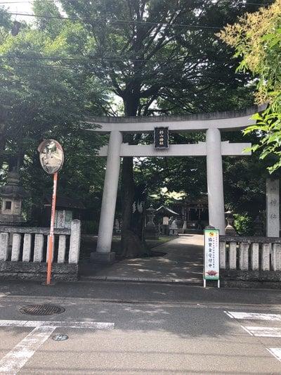 杉山神社の鳥居