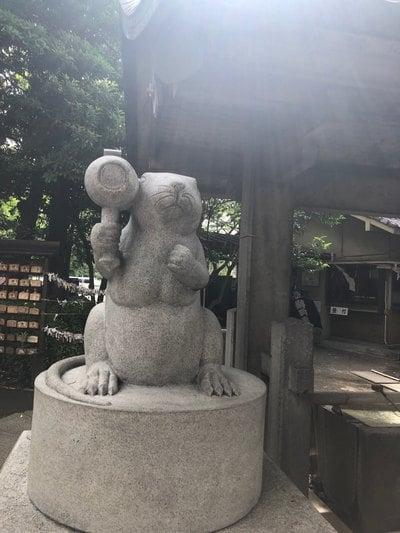 杉山神社の狛犬