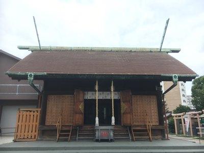 神奈川県鶴見神社の本殿