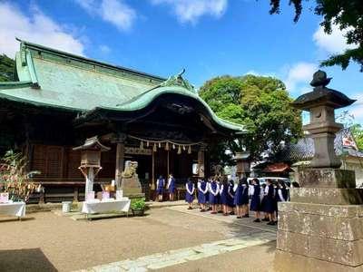 千葉県二宮神社の本殿