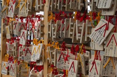 高円寺氷川神社の絵馬