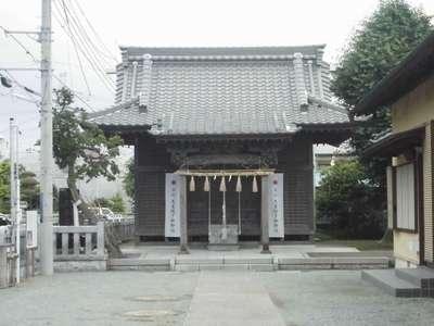 渋谷神社の本殿