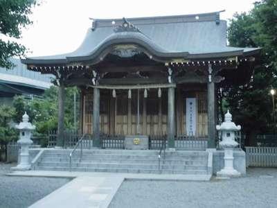神奈川県八幡宮の本殿