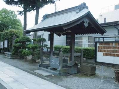 神奈川県八幡宮の手水