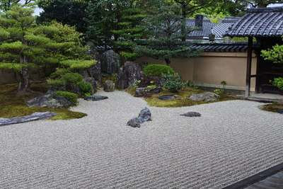 大徳寺の庭園