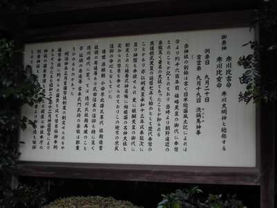 寒川神社の歴史
