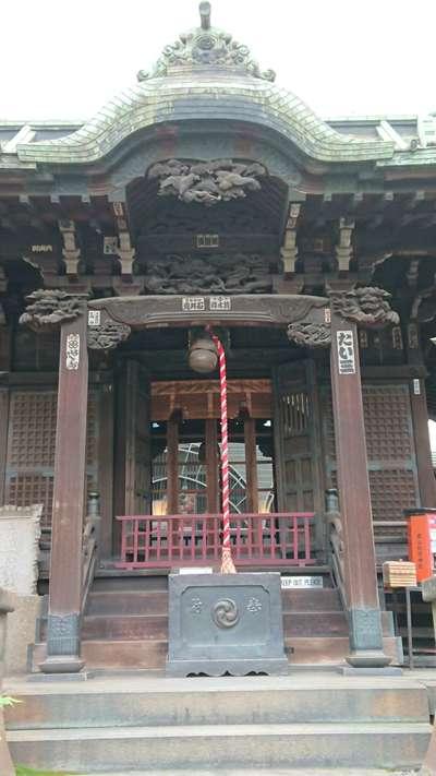 高山稲荷神社の本殿