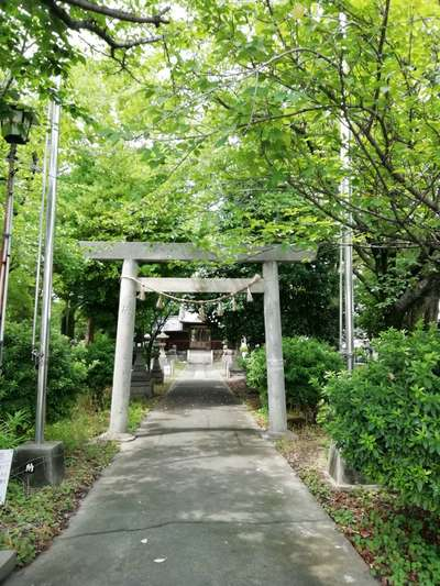 野宮神明社の鳥居