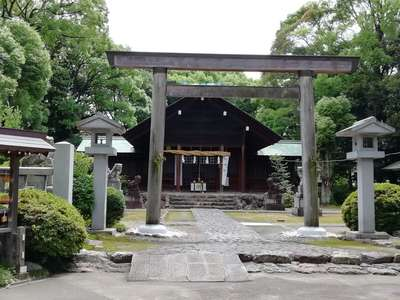 愛知県酒見神社の鳥居