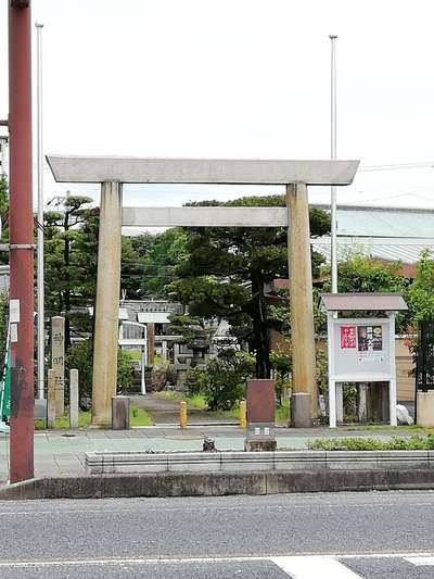 愛知県神明社の鳥居