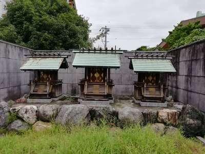 愛知県神明社の本殿